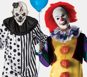 Horror-Clown-Kostüme in großen Größen