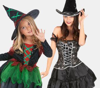 Hexen Kostüme für Halloween
