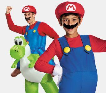 Mario & Luigi Mottoparty Kostüme