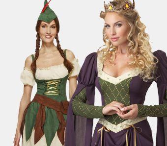 Mittelalter Kostüme für Damen