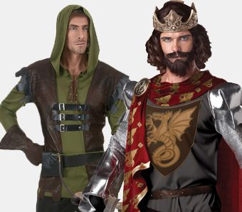 Mittelalter Kostüme für Herren