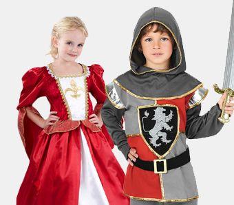 Mittelalter Kostüme für Kinder