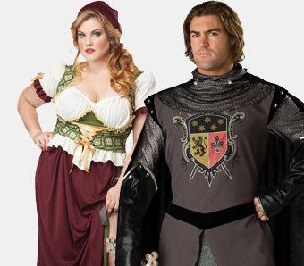 Mittelalter Kostüme große Größen