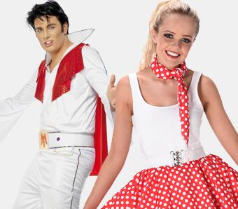 Motto-Kostüme 50er-Jahre