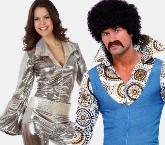 Motto-Kostüme 70er-Jahre