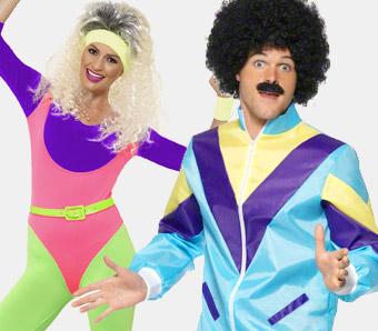 Motto-Kostüme 80er-Jahre