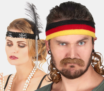 Mottoparty-Haarschmuck