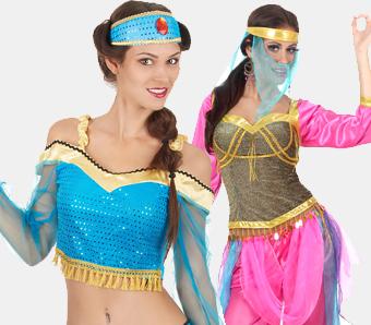 Orientalische Kostüme für Damen