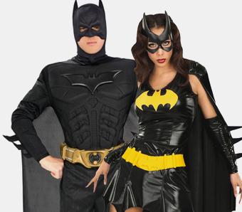 Partnerkostüme für Superhelden-Mottopartys