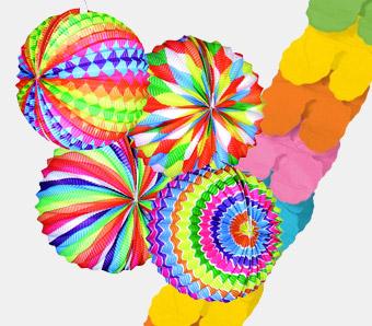 Party-Deko für Karneval
