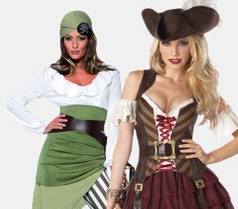 Piratenkostüme für Damen
