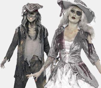 Piratenkostüme für Halloween