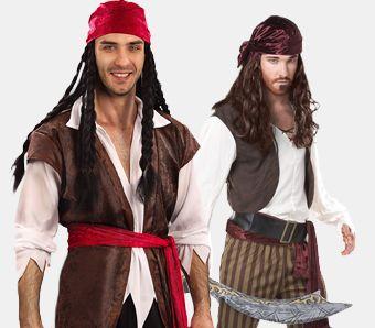 Piratenkostüme für Herren