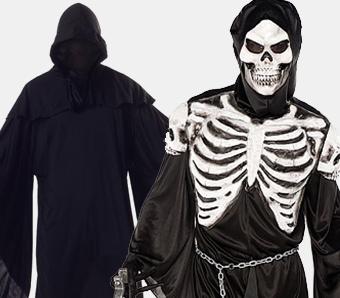 Skelett- & Sensenmann-Kostüme für Herren