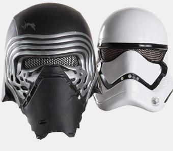 Star Wars-Masken zum Fasching