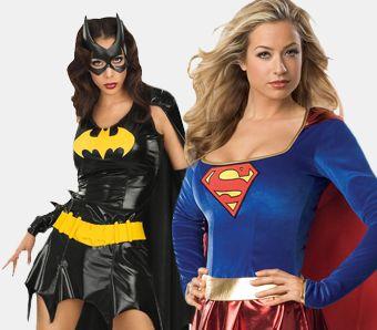 Superhelden Kostüme für Damen
