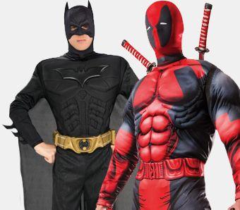 Superhelden Kostüme für Herren
