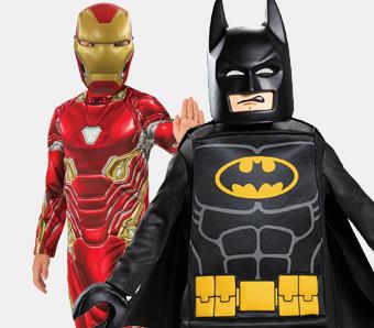 Superhelden-Kostüme für Jungen