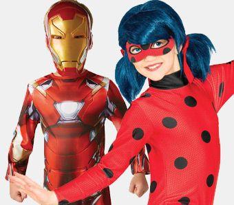 Superhelden Kostüme für Kinder