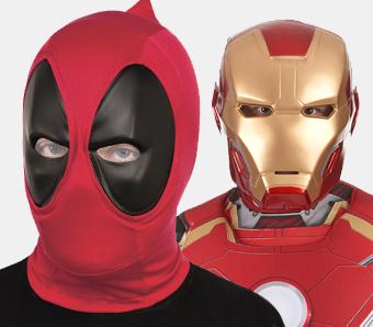 Superhelden-Masken zum Fasching