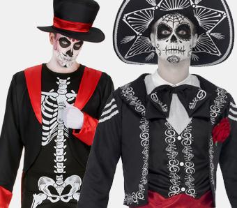 Tag der Toten Kostüme für Herren