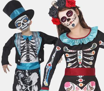 Tag der Toten Kostüme für Kinder