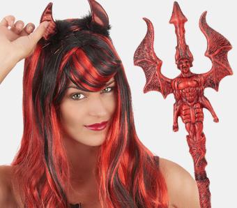 Schminken weiblicher teufel Teufel schminken