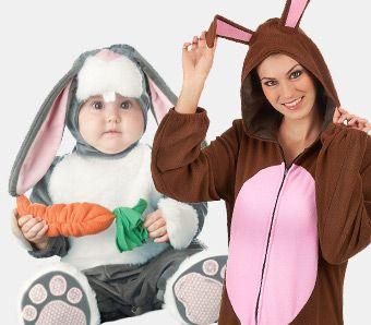 Tierkostüme für Ostern