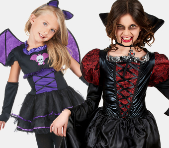Vampir-Kostüme für Kinder