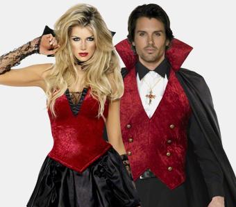 Vampir-Kostüme für Paare & Gruppen