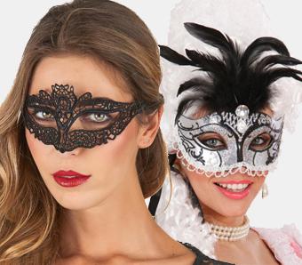 Venezianische Masken für Damen