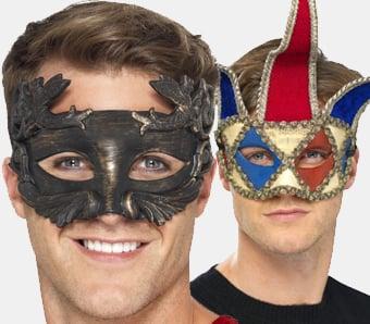 Venezianische Masken für Herren