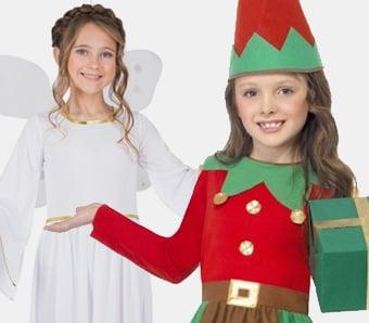 Weihnachtskostüme für Mädchen