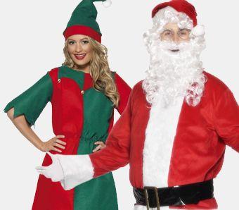 Weihnachtskostüme große Größen