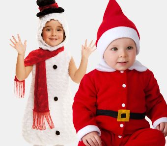 Weihnachtskostüme für Babys