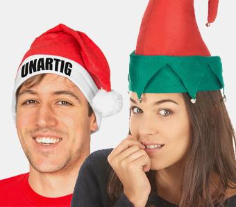 Weihnachtsmützen & -Hüte