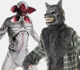 Werwolf- & Monster-Kostüme