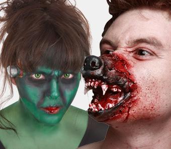 Werwolf- & Monster-Schminke