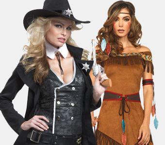 Western Kostüme für Damen