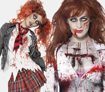 Zombie-Kostüme für Damen