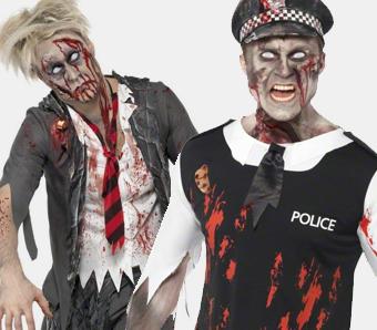 Zombie-Kostüme für Herren