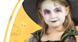 Kinderschminken Hexe: Anleitung mit Video