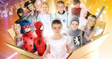 Alles für eine Verkleidungskiste für Kinder!
