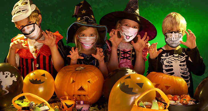 Halloween 2021 mit der ganzen Familie feiern!