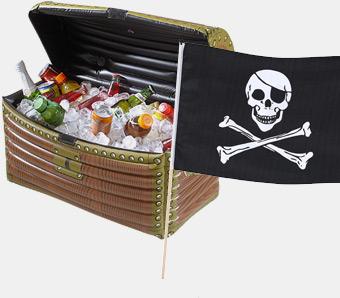 Piraten-Kindergeburtstag